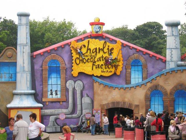 014 Charlie and The Chocolate Factory ride - a bit of a dissapointment
