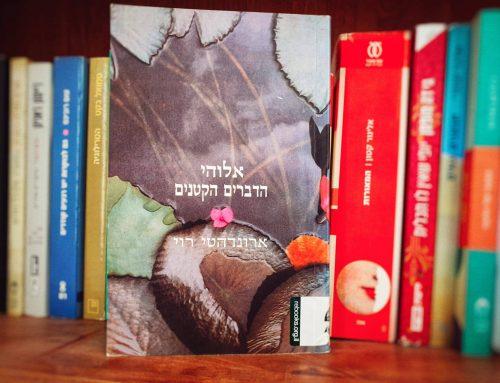 """כמה מילים על הספר """"אלוהי הדברים הקטנים"""" מאת ארונדהטי רוי (זמורה ביתן בשיתוף עם הד ארצי/מעריב)"""